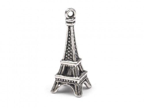 Zawieszka metalowa Wieża Eiffla Paris