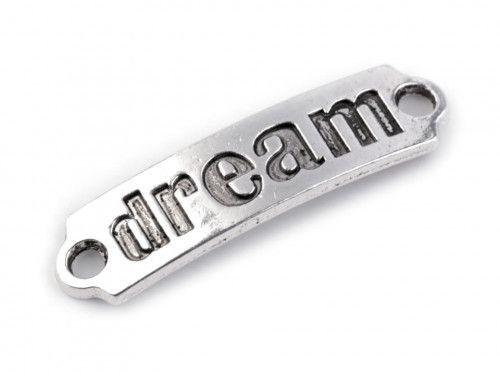 Ozdoba metalowa, łącznik DREAM