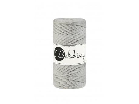 Sznurek bawełniany skręcany 3mm beżowy BOBBINY