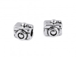 Koralik metalowy aparat fotograficzny
