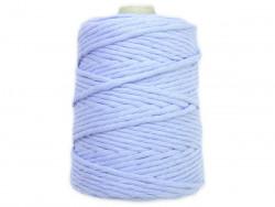 Sznurek bawełniany 3mm niebieski jasny 200m