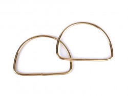 Ucho metalowe do torebki półkole 11cm
