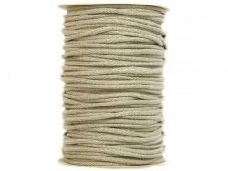 Sznurek bawełniany 5mm kawowy 100m