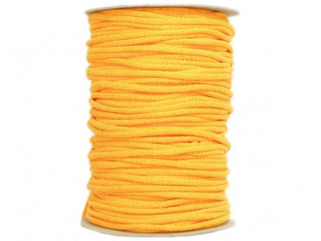 Sznurek bawełniany 3mm żółty ciemny 100m