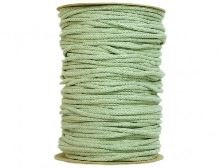 Sznurek bawełniany 3mm zielony szałwiowy 100m