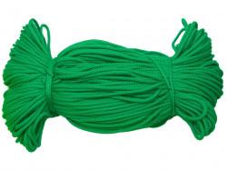 Sznurek poliestrowy 2mm zielony 100m