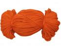 Sznurek poliestrowy 2mm pomarańczowy rudy 100m