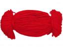 Sznurek poliestrowy 2mm czerwony 100m