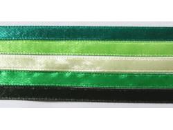 Zestaw Wstążek 6mm - Zielona Łąka
